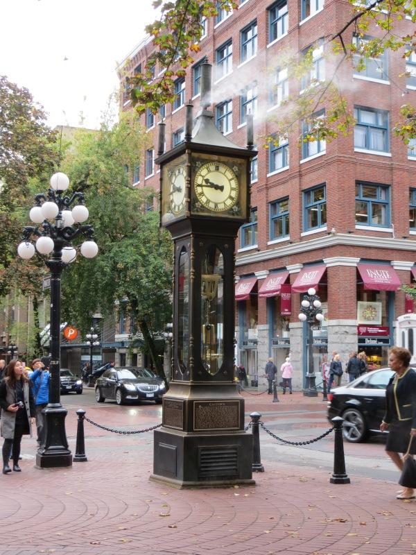 Relógio a vapor em Gastown