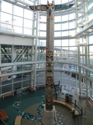 Toten no aeroporto de Vancouver