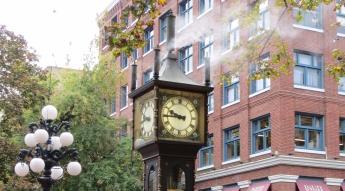 Relógio a vapor em Gastown. STEAM CLOCK